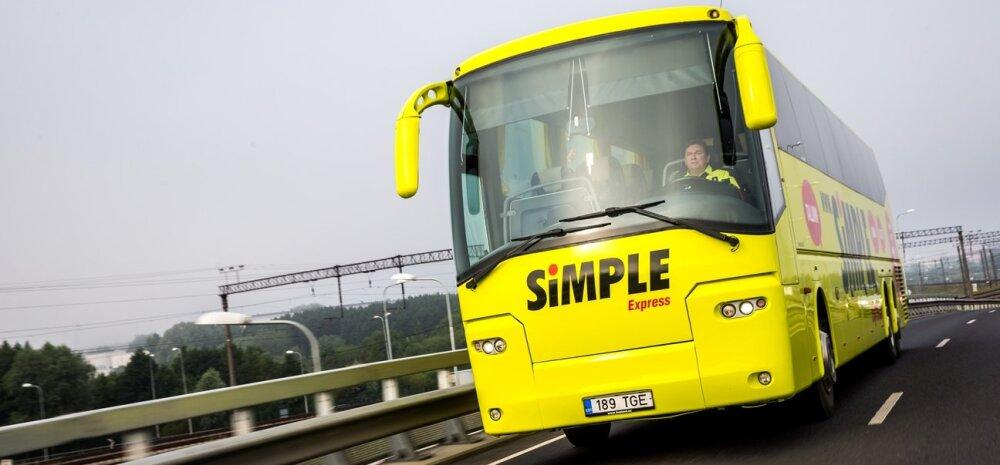 Simple Express alustas uue liiniga Tallinnast Peipsi äärde