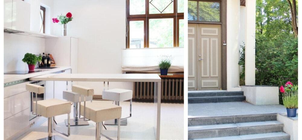 FOTOD | Läbi kahe korruse kulgev Kadrioru korter, kus kohtuvad ajalugu ja moodne minimalism