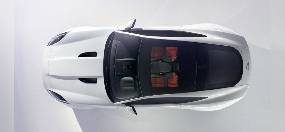 Esimene foto Jaguari F-Type kupeest
