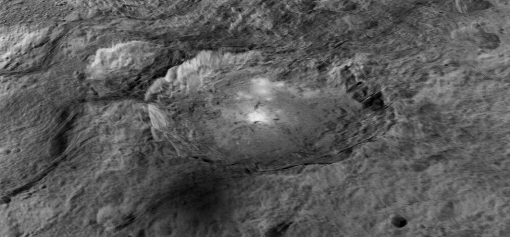 NASA VIDEO: Vaatame lähemalt neid eredaid kohti kääbusplaneet Cerese pinnal