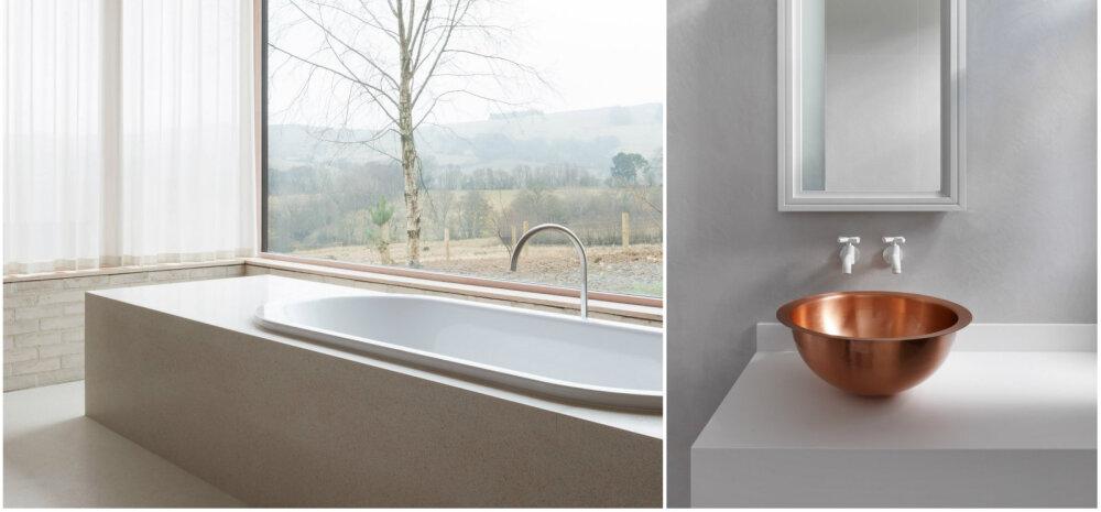 FOTOD | 10 üliminimalistlikku vannituba, mis tõestavad, et vähem on rohkem!