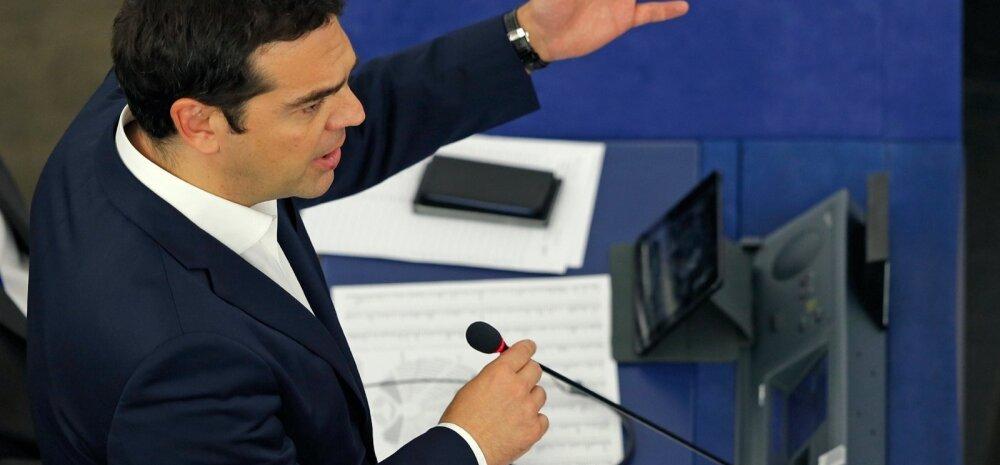 Osa eurosaadikuid õhutas Kreekat euroalast lahkuma
