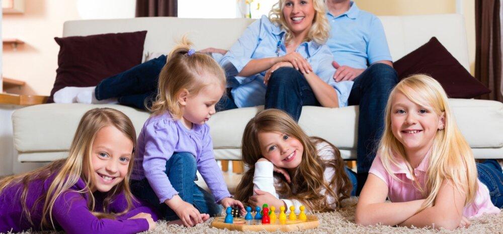 Huvitavad uuringutulemused: mida rohkem lapsi naisel on, seda aeglasemalt ta vananeb