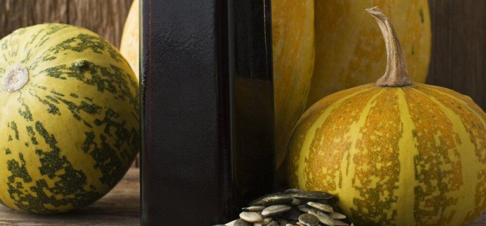 Must kuld toidulauale! Kõrvitsaseemneõli turgutab tervist väga mitmel moel