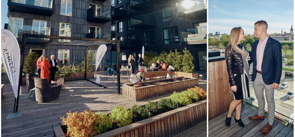 ФОТО │ Победители фотоконкурса отметили День Таллинна на самой роскошной в городе террасе на крыше!