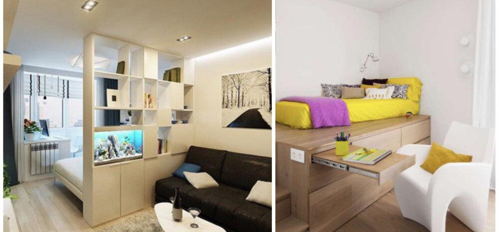 Однокомнатная квартира: как правильно расставить мебель?