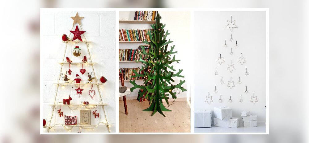 FOTOD: Traditsioonilise jõulupuu alternatiivid — vaata lahedaid ideid!