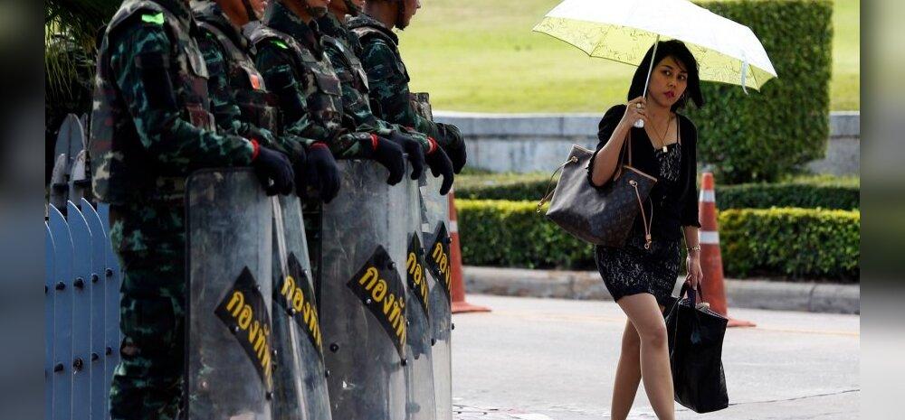 Tai sõjavägi peab prominentidele jahti