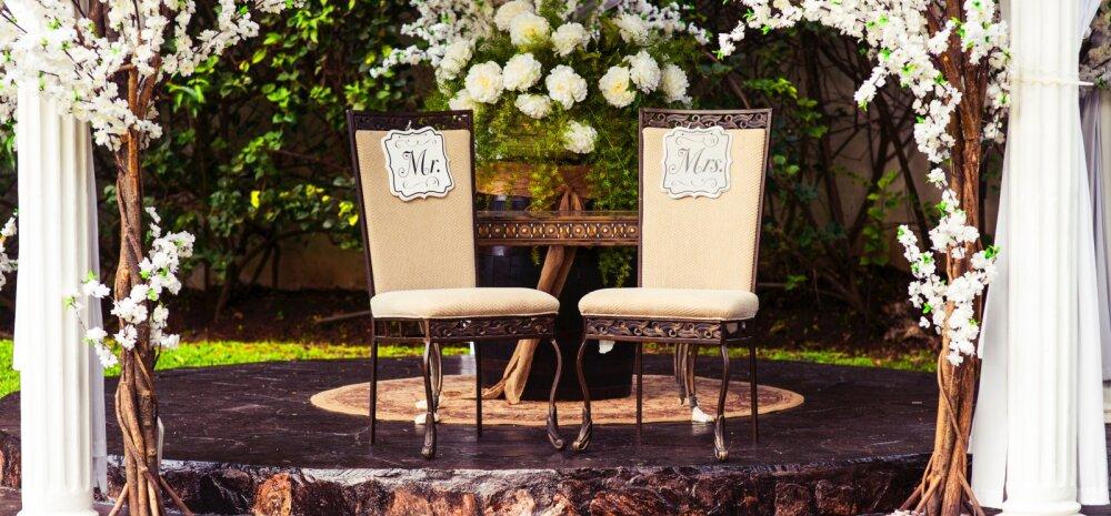 Naisteka pulmablogi: mida silmas pidada dekoori ja lillede valikul