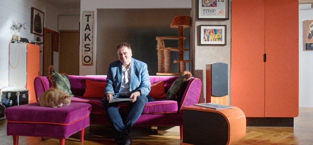 Eestisse kodu rajanud briti ärimees Ben on kirglik melomaan – tema plakati- ja plaadikogust inspireerituna saigi korter oma praeguse näo.