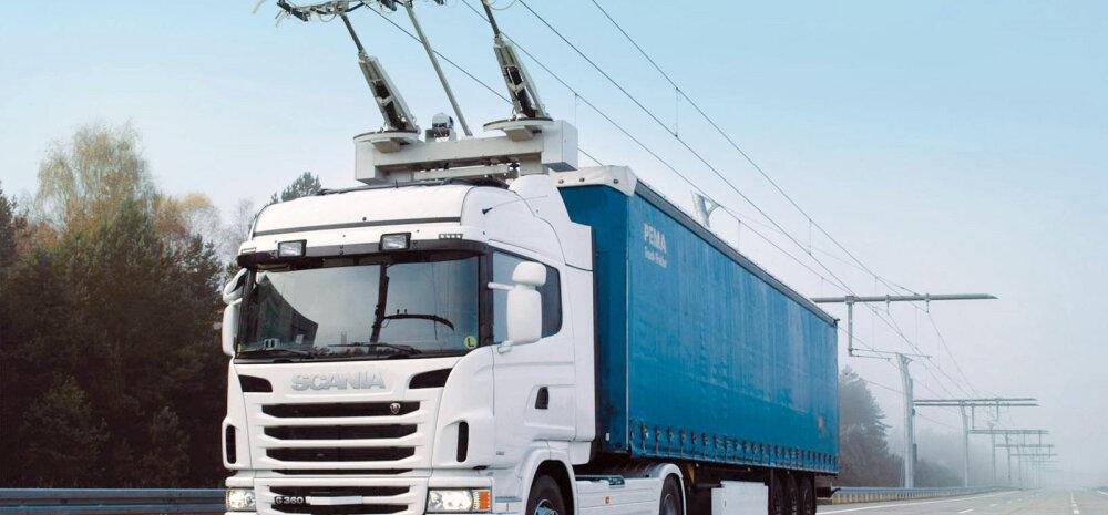 Troll-veoautode päralt on tulevik: Rootsis avati nendele eraldi tee