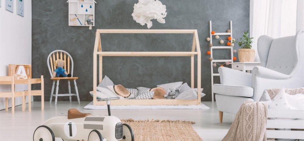Kuidas sisustada mõnus lastetuba, mis sobib nii mängimiseks kui ka magamiseks?