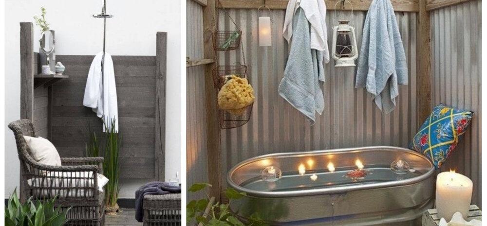 Vii vannituba õue — 12 värskendavat ideed!