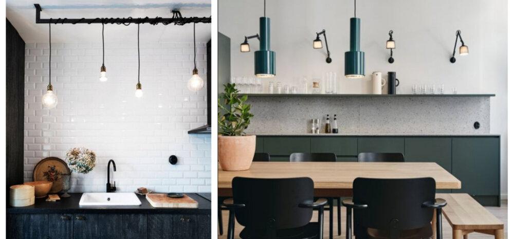 FOTOD   Millised valgustid kööki valida? Vaata lahedaid ideid!