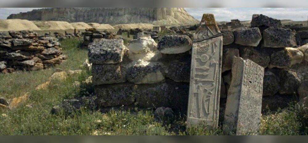 Ehitatud hunnide poolt? Hiiglaslik monumendikompleks Kasahstani stepialal