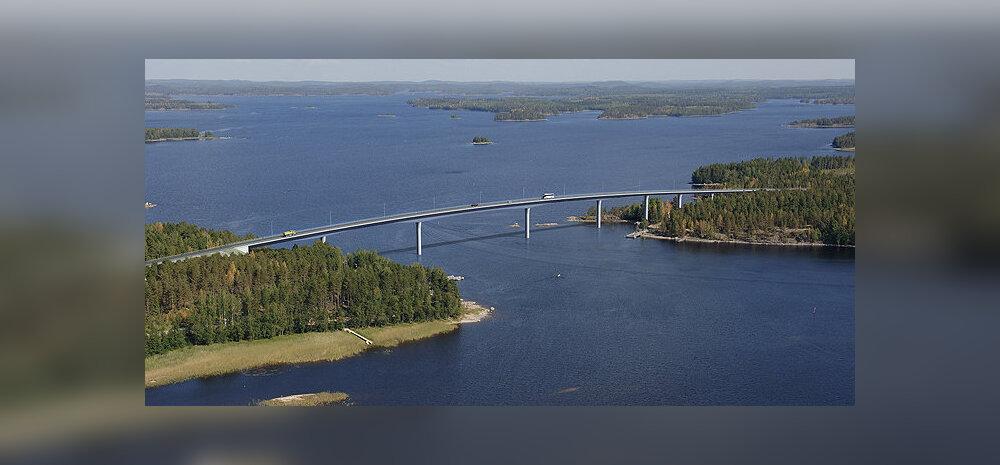 Sõjas strateegiliselt vajalik, hülgeid mitte segav, suure silla projekt Soomes