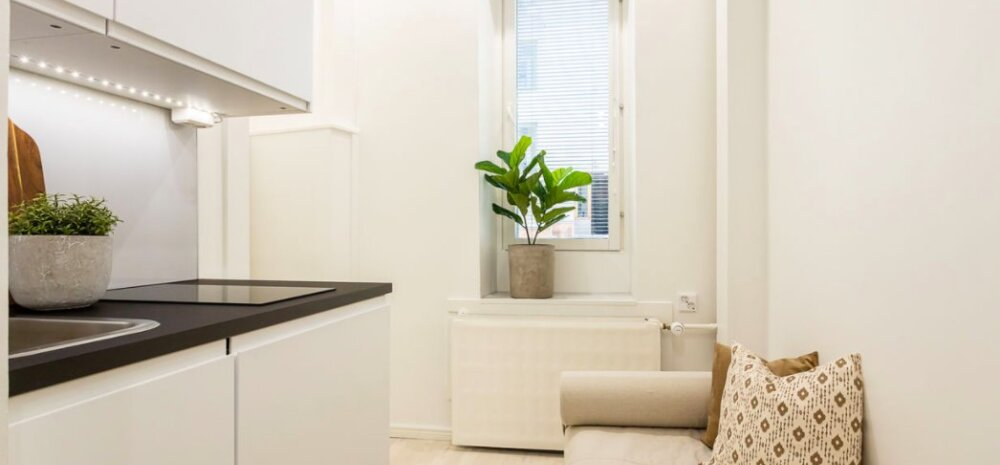 ФОТО | Самая маленькая квартира в мире? В Хельсинки продается жилье на 7 квадратных метрах!