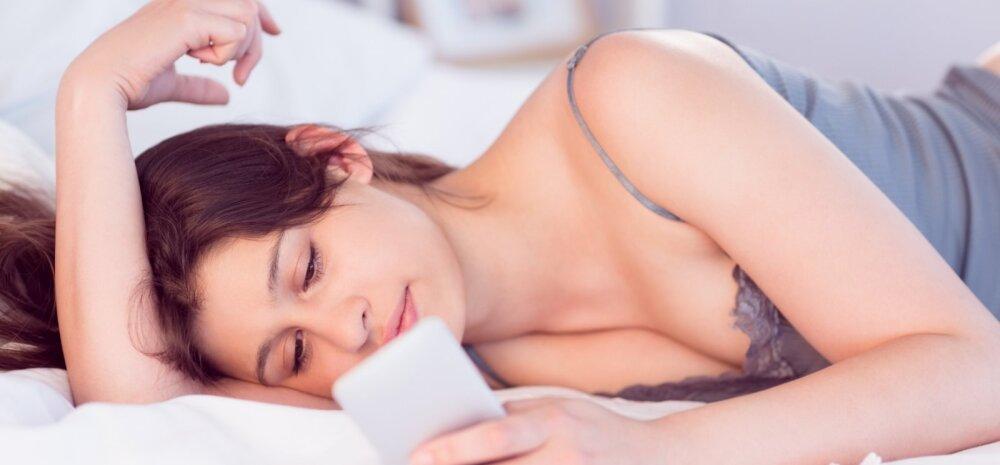 Ettevaatust: öisel ajal nutitelefonide kasutamine võib põhjustada tõsiseid nägemise kahjustusi!