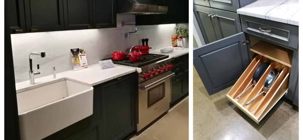 FOTOD | Köögidisainer Hiie Härm: nutikad lahendused Ameerika köögisalongidest