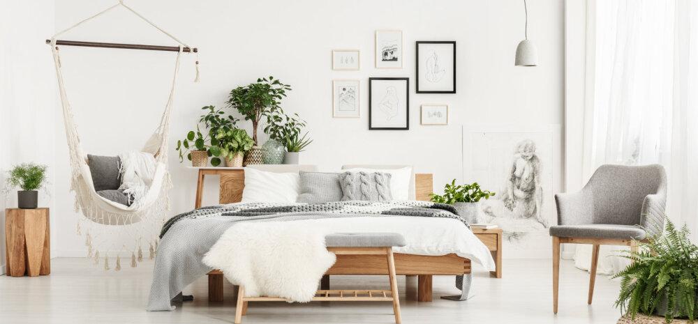 Millised on tänavused sisustustrendid magamistoas?