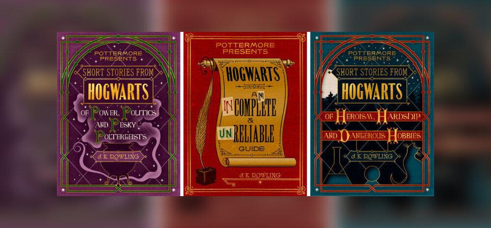 Rõõmusõnum fännidele: J.K Rowling avaldab veel kolm Harry Potteri raamatut!