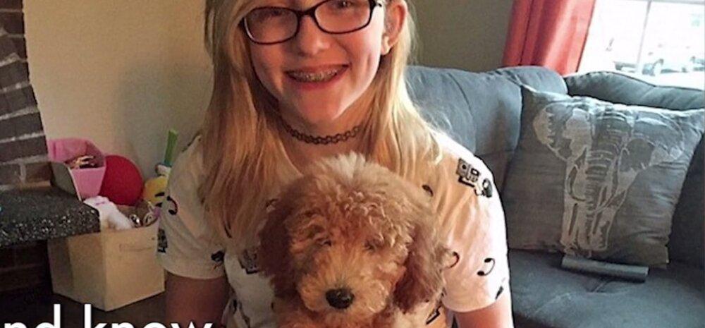 Südantlõhestav VIDEO: 12aastane tüdruk jääb peagi pimedaks. Nukrutsemise asemel kavatseb ta maailma avastada