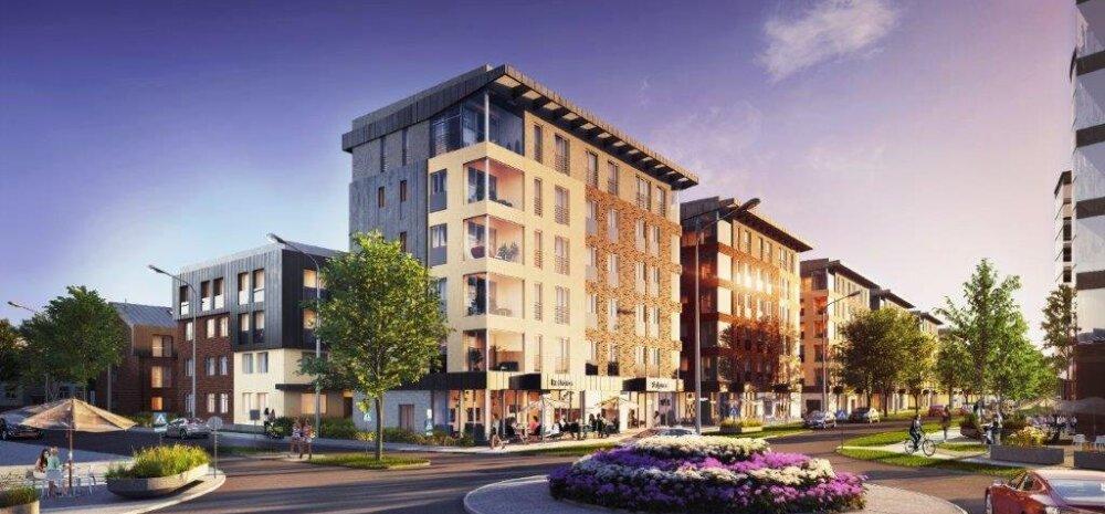 В микрорайоне Веэренни в центре Таллинна построят 50 многоквартирных домов