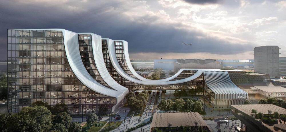FOTOD | Vaata tipparhitektide nägemusi Ülemiste massiivsest tulevikukompleksist