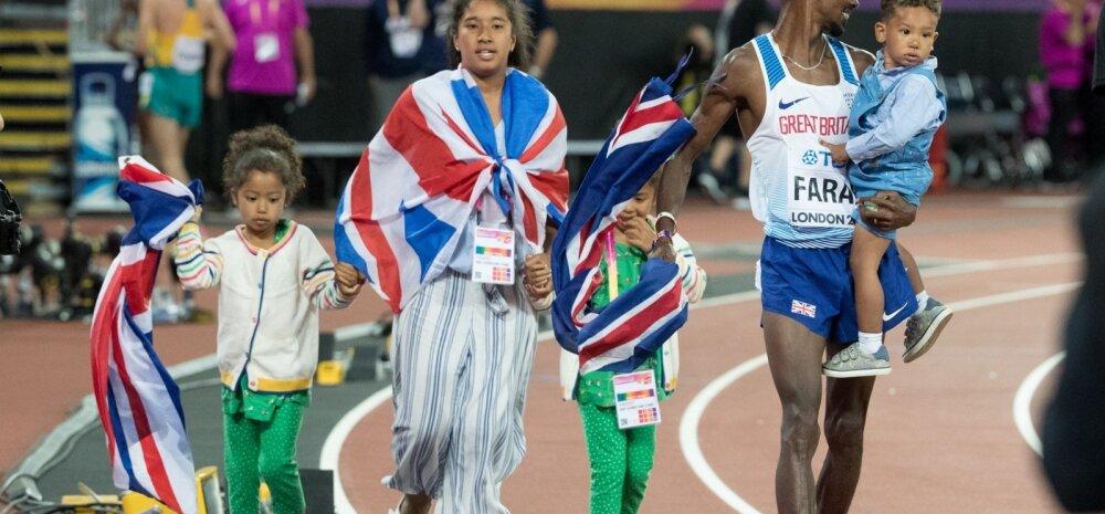 London 2017 Usain Bolt ja Mo Farah