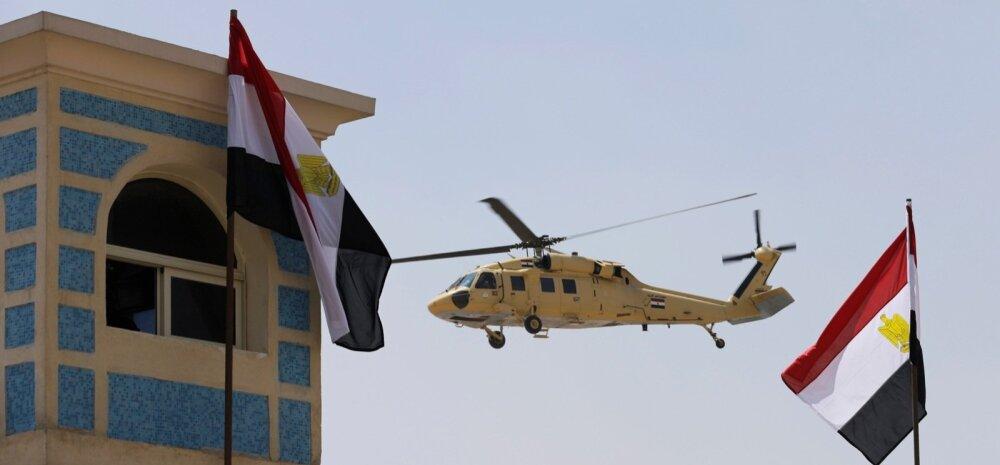 BBC: Siinai poolsaarel tapeti 11 Egiptuse sõdurit