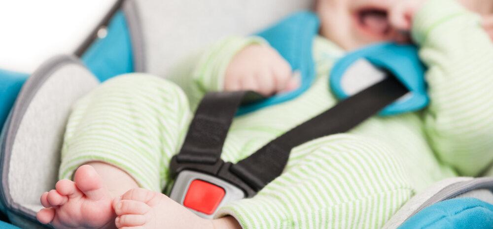 Millisele istmele sina autos oma lapse turvatooli kinnitad? Ja kas tead, kus on kõige turvalisem last autos sõidutada?