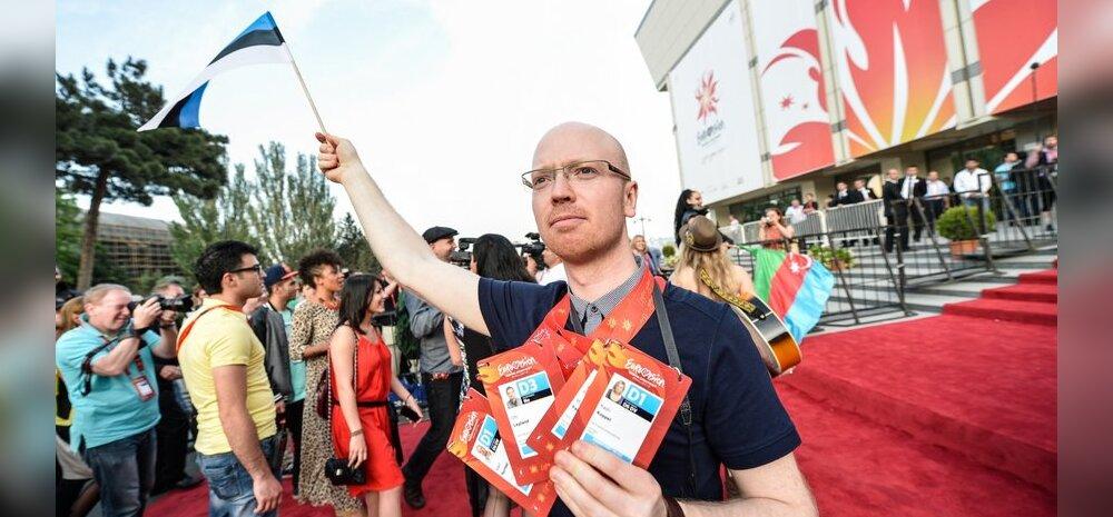 Mart Normet mõtiskleb: ei meenugi, et viimasel ajal oleks Eurovisiooni lavale astunud mõni lapseootel naine!