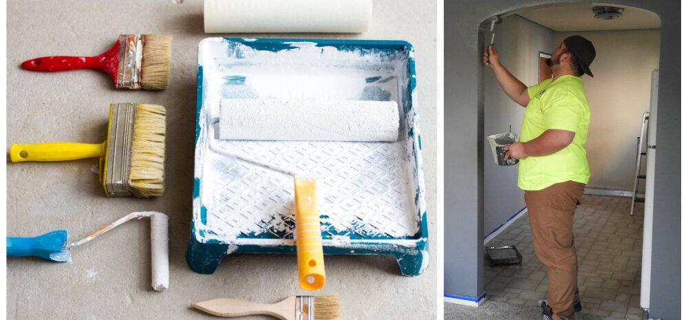 РЕМОНТ И СТРОЙКА │ Секреты покраски от профессиональных маляров