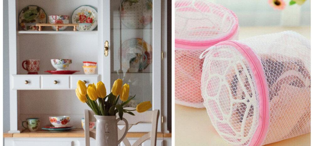 ИДЕЯ │ Как можно использовать мешок для стирки на кухне