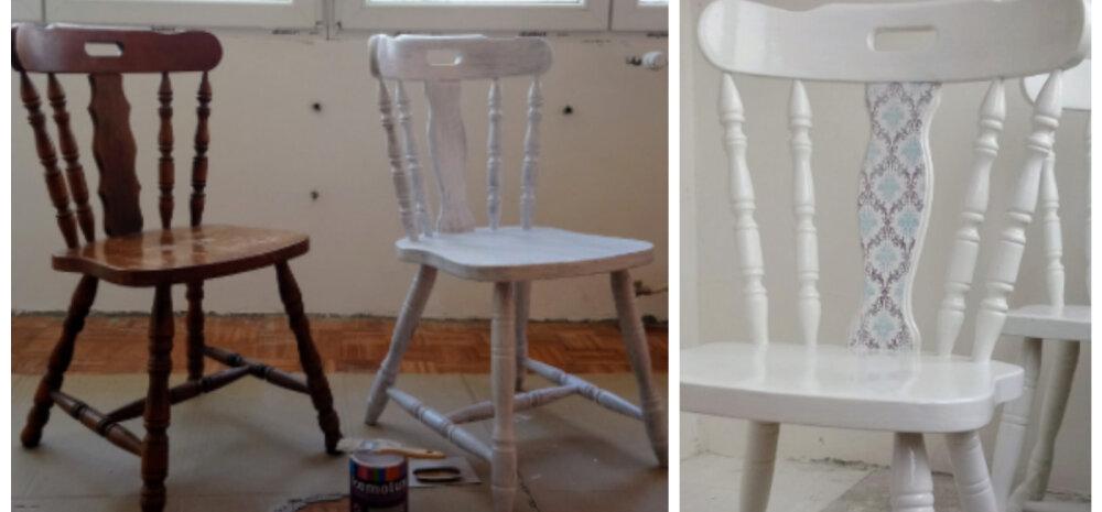 ДЕЛАЕМ САМИ│Обновляем деревянные стулья