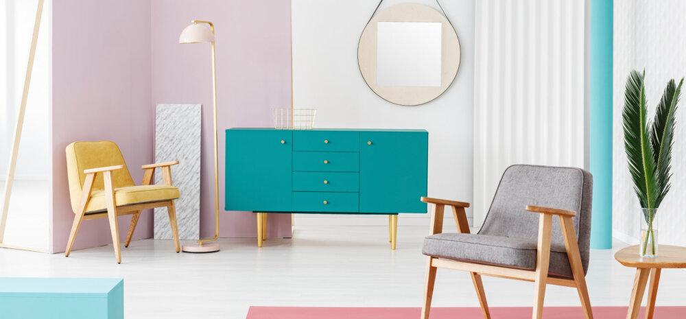 Oska vältida vigu, mida mööblit värvides tegema kiputakse!