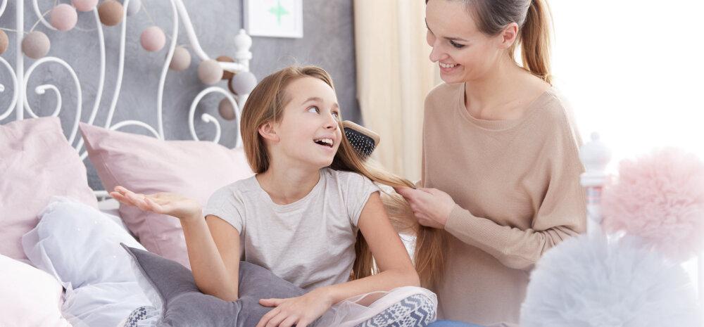 Sinu ja lapse hea suhte loomise jaoks on kõige olulisemad NEED kolm minutit päevast