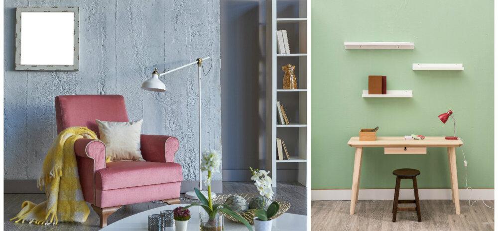 Milliste värvide abil muuta interjöör suuremaks ja avaramaks?