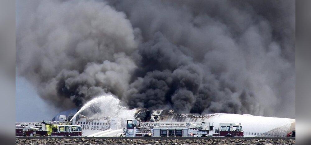 VIDEO: Vaata, kuidas Boeing 777 alla kukkus