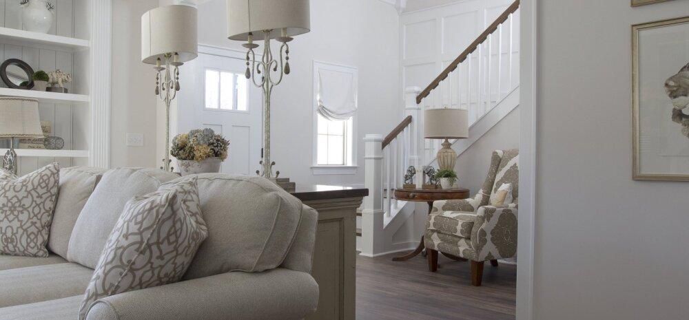 Neli asja, millega arvestada, kui plaanid kodus seinad valgeks värvida