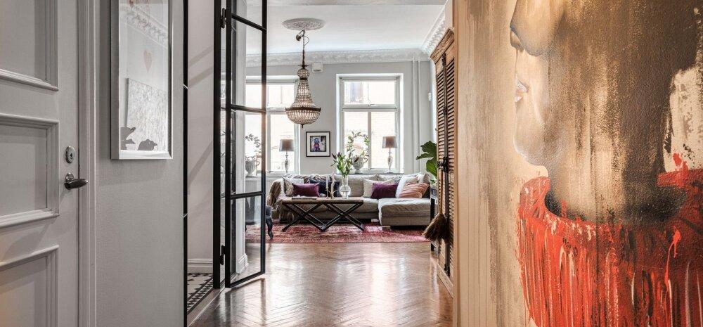 FOTOD | Luksusliku joonega elamine 120 aastat vanas kortermajas