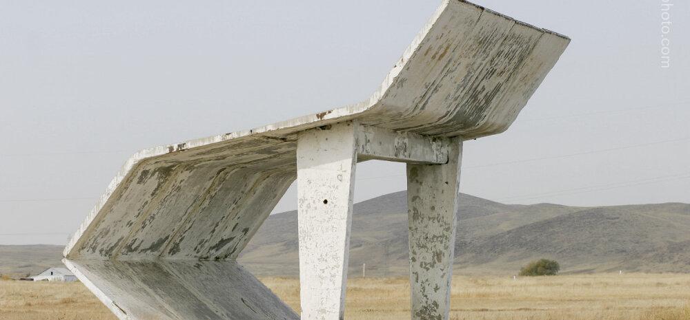 Nõukogude riigi bussipeatused - fotograaf sattus matkama kadunud impeeriumi varemetel