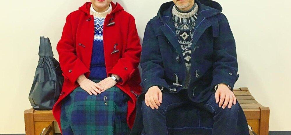 Ah, kui äge! 37 aastat abielus olnud paar kannab alati sarnaseid kostüüme