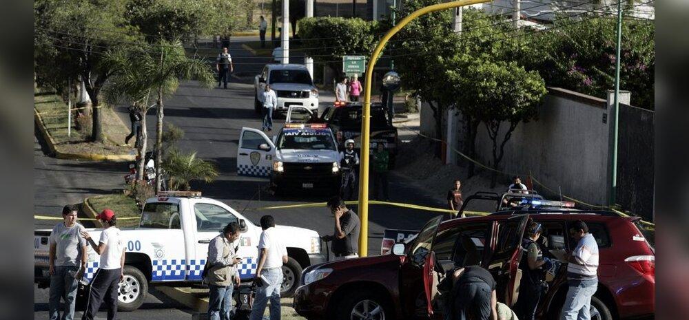 Mehhikos tapeti 13 narkokurjategijat kuulirahega