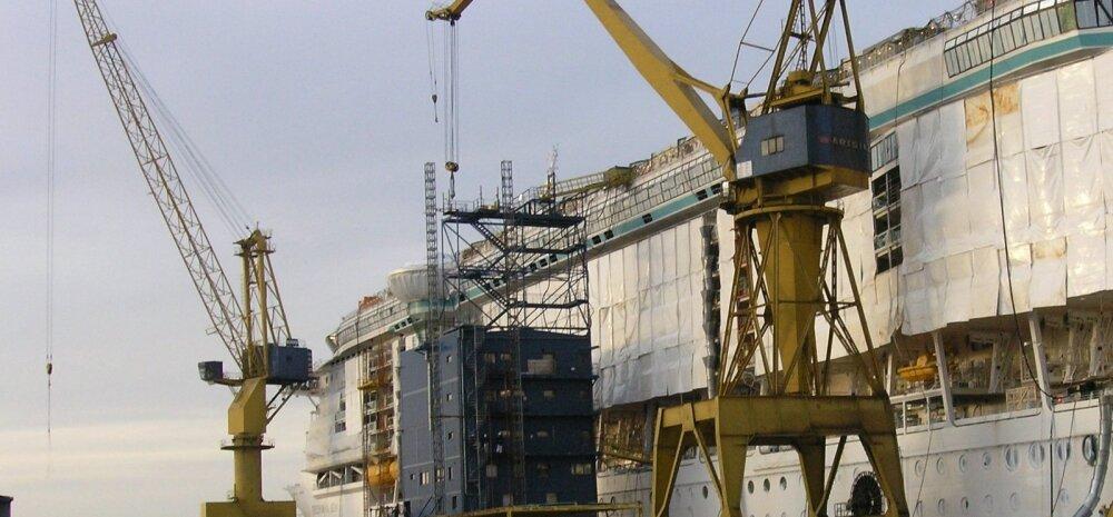 Soome Turku / Turu , Aker Finnyards laevatehas