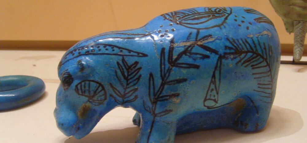 Egiptuse sinine - pigment, mille valmistamise oskus kadus igaveseks koos Rooma riigiga