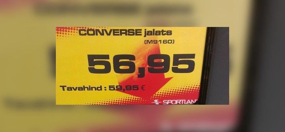 FOTO: Allahindlus Eesti moodi – jalatsid 3 eurot odavamalt!