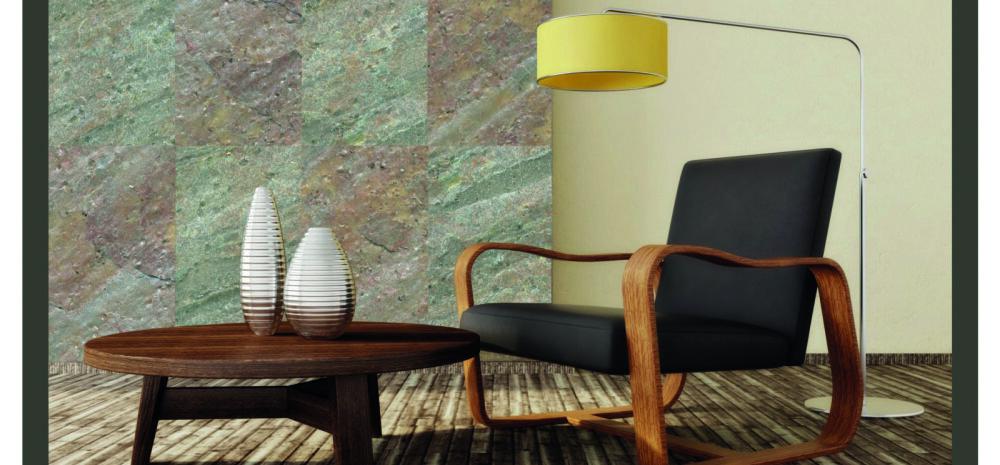 Pilkupüüdev kivispoon annab ruumile looduslähedase näo