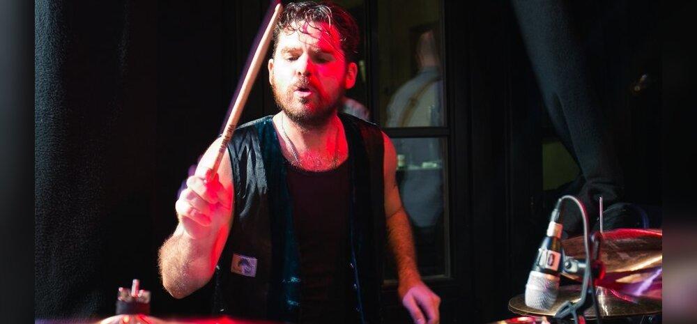 Kuulus USA trummar Mike Miley sai Eestis trummivõistluse esmakogemuse: see oli mulle suur au!