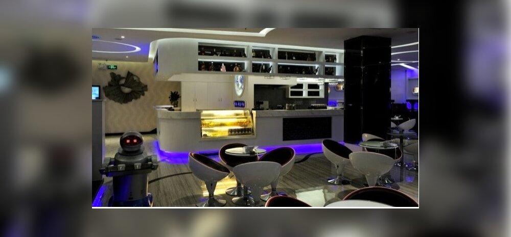 Peng Heng kosmosekapsli hotell Shenzhenis Hiinas.
